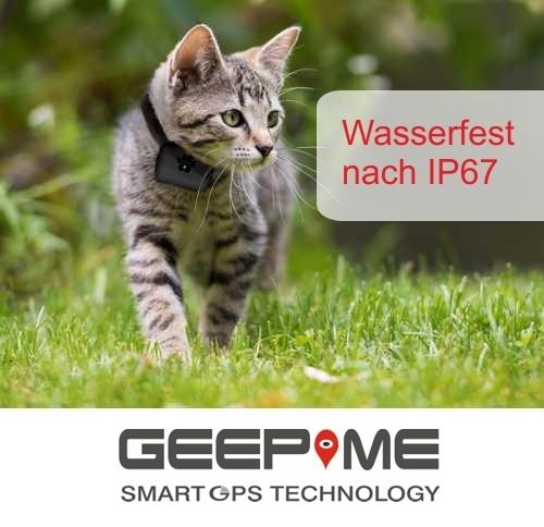 Geepme TD05 Tracker für Tiere - Tiertracker GPS