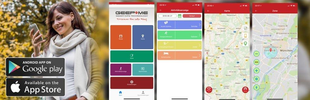 SE Tracker App für Geepme Tier-Tracker TD05