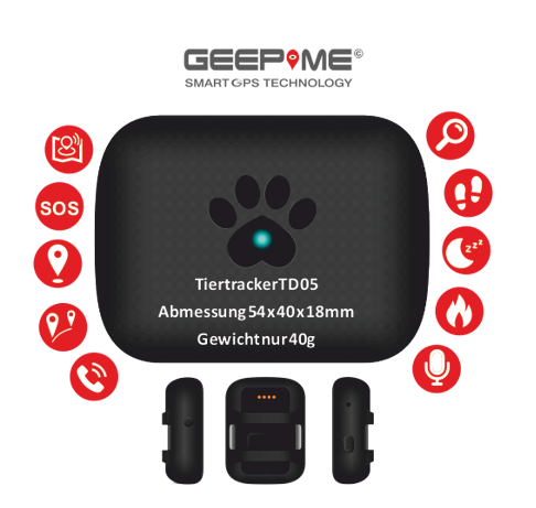 Geepme-Tiertracker TD05